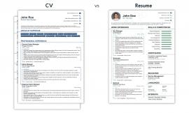 La differenza tra curriculum e resume